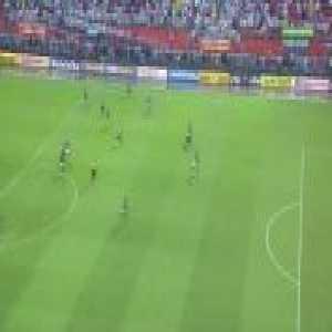 Rodrygo (Santos) goal vs. Palmeiras (1-[2]) [Campeonato Paulista Semifinal - 2nd Leg - 2-[2] agg]