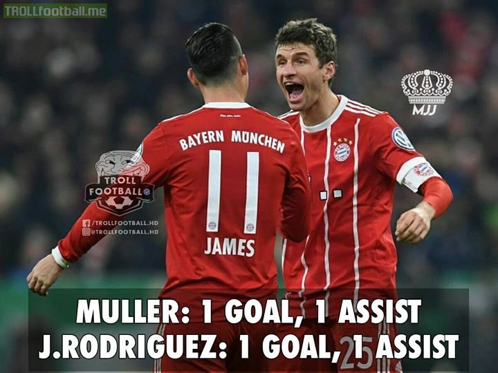 J.Rodriguez and Muller Are On Fire Vs Borussia Dortmund Today!💪🔥 MJJ