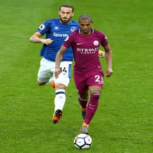 Everton only had 17.9% possession against Manchester City, Fernandinho had 14.5% possession himself!