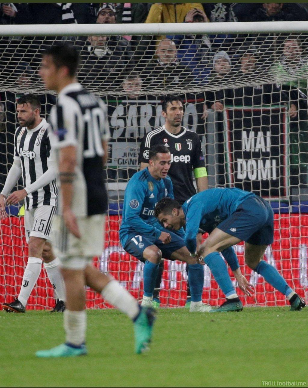 Buffon's face says it all