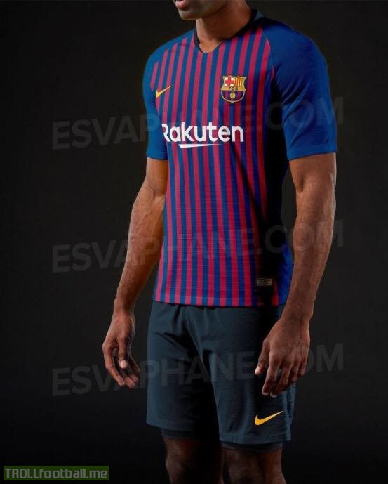 finest selection f4ff5 7dccf Here is possible home-kit of Barcelona for 2018/19 season ...