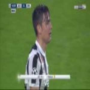 Paulo Dybala yellow card for diving against Real Madrid