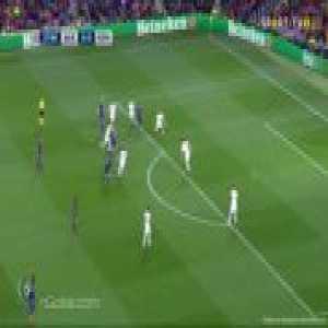 Barcelona 1-0 AS Roma - Daniele De Rossi (Own Goal) 38' (Champions League - Quarter-finals)