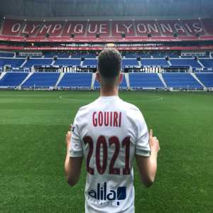Amine Gouiri signs first professional contract with Olympique Lyonnais until 2021