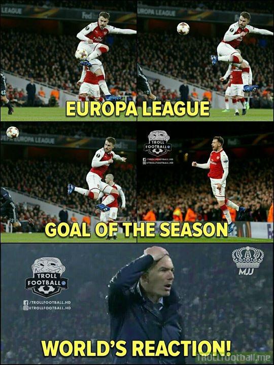 Anyone Saw Ramsey's Goal?!😍🔥 Best Goal!🔥 MJJ