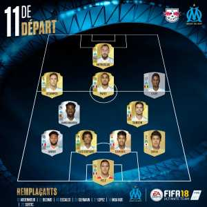 Marseille XI vs Leipzig : boths centerbacks have not played there once for Marseille prior to this game.