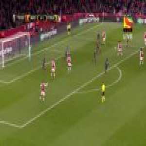 Ramsey hits the post vs CSKA Moscow