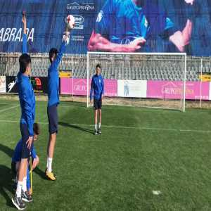 Fuenlabrada players trying to copycat Cristiano Ronaldo goal