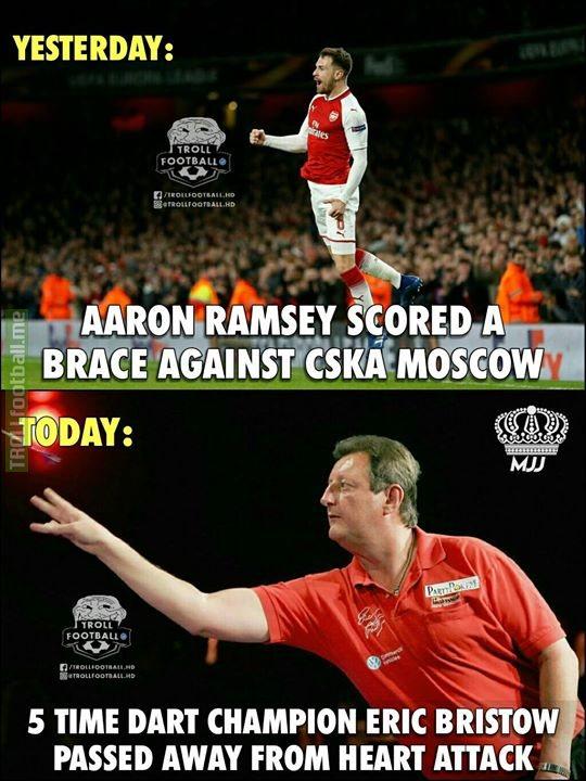 Ramsey Curse Continues..😱😰 RIP😢 MJJ