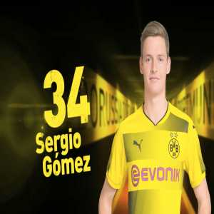 17 year old Sergio Gomez makes debut for Borussia Dortmund. (Former Barca Youth player).