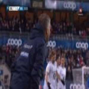 Rosenborg [1]-0 Molde - Nicklas Bendtner 20'