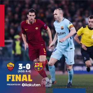FC Barcelona have been eliminated from the Champions League