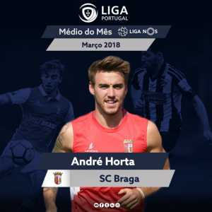 LAFC signing Andre Horta named Liga Portugal midfielder of the month