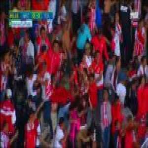 Necaxa [1]-0 Toluca - Santiago García great own-goal 87'