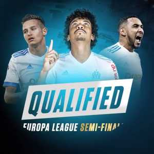 Olympique Marseille have qualified for Europa League Semi Finals