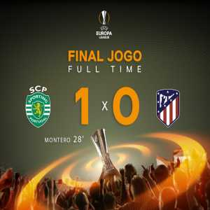 Sporting CP have been eliminated from the UEFA Europa League