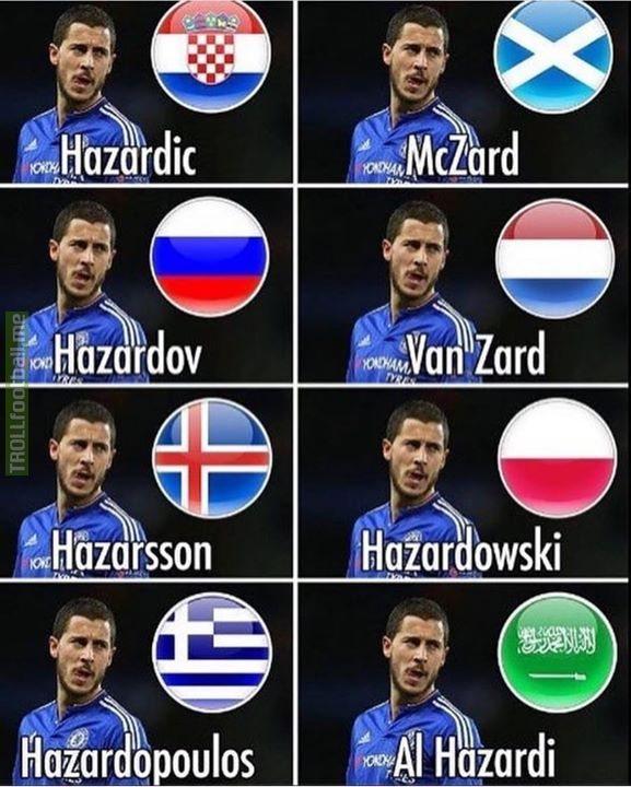 Hazard 😂😂