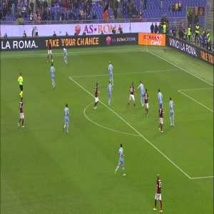 AS Roma tweeting on the winner against Lazio