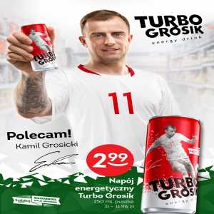 Hull City's Kamil Grosicki releases his own energy drink, 'Turbo Grosik'