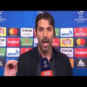 [SUB ENG] Buffon MAD in the after-match interview vs Real Madrid (11/04/2018)
