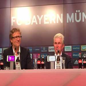"""Jupp Heynckes: """"We were completely dominant in the second half. All the boys are in top form right now and that just emphasises the great atmosphere in the squad."""""""