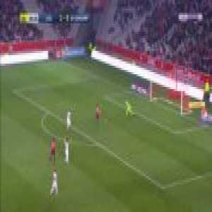 Lille 2-0 Guingamp - Luiz Araujo