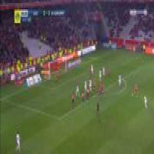 Lille 2-[2] Guingamp - Jimmy Briand 90+3'