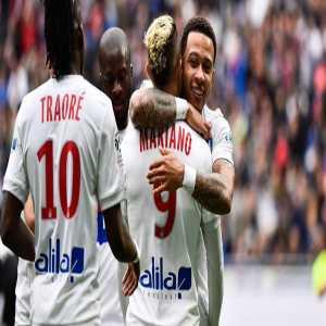Memphis Depay's last four games for Olympique Lyonnais: 5 goals, 5 assists
