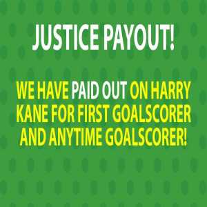 Paddy Power paying out on Kane first goalscorer and anytime goalscorer