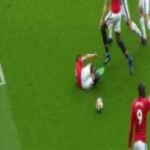 Ander Herrera penalty appeal vs West Brom