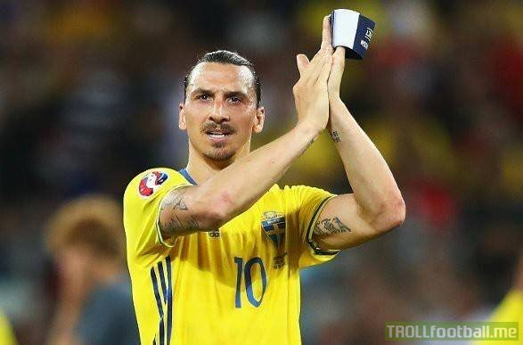 BREAKING: Zlatan Ibrahimovic has confirmed he'll play for Sweden at the World Cup this summer!