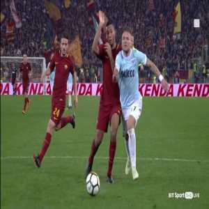 Immobile dive vs Roma