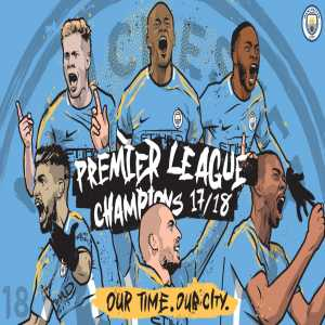 Manchester City are the 2017/2018 Premier League Champions