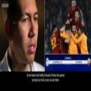 Roberto Firmino's interview with Juliet Farrington - BBC Football Focus [03:10]