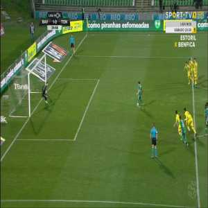 Guedes (Rio Ave) missed a panenka penalty when he wasn't the taker. The Rio Ave manager just subbed him off a couple of minutes later.