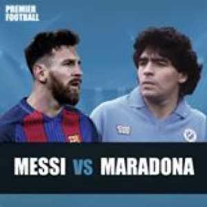 Better All Around Player: Messi or Maradona?