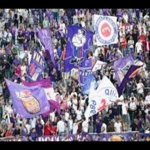 Fiorentina fans mock Buffon after a penalty is removed by VAR. Singing 'insensitive' to the referee.