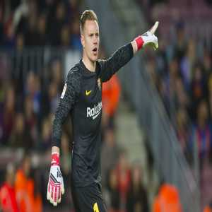 Marc-André Ter Stegen will captain FC Barcelona for the first time against Celta Vigo