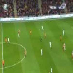 Galatasaray 0-1 Akhisar Belediye [2-2 on agg.] - Yevhen Seleznyov