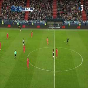 Kylian Mbappe skill vs. SC Caen