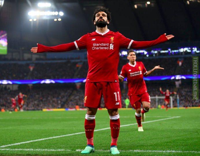 Mohamed Salah has now outscored the season best tallies of:  🇦🇷 Aguero 🇮🇹 Del Piero 🇨🇮 Drogba 🇨🇲 Eto'o 🇮🇹 Inzaghi 🇩🇪 Müller 🏴 Rooney 🇺🇦 Shevchenko 🇳🇱 van Persie