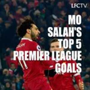 Mohamed Salah has taken the Premier League by storm this season 🔥  His Top 5️⃣ goals are simply stunning 😍  (📹 Liverpool FC)