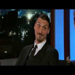 Zlatan Ibrahimovic Interview on Jimmy Kimmel Live