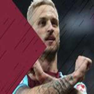 Happy birthday to Marko Arnautovic 🎉⚒  (📹 West Ham United)