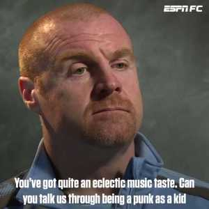 """The rave scene was a big era for me."" Sean Dyche"