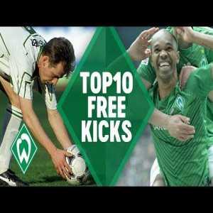 Top 10 Werder Bremen free kick goals