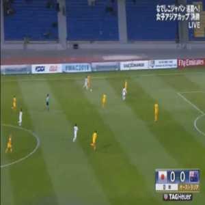 Beautiful goal by Kumi Yokoyama to win Women's Asian Cup over Australia 1-0