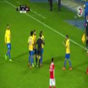 Ailton - hard tackle against Jimenez, no card - Estoril vs Benfica