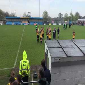 Gosport Borough FC, who started the day bottom of the Southern Premier League on 11 points, beat Frome 7-0