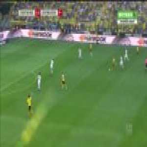 Jadon Sancho goal vs Leverkusen (1-0)